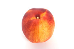 Peach. Fresh peach isolated on white background Stock Photo