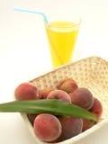Peach. (sweet fruit) sammer fruit stock photos