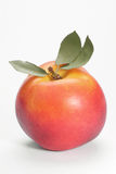 Peach. On a white background royalty free stock photos