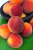 Peach. A lot of fresh peach Royalty Free Stock Images