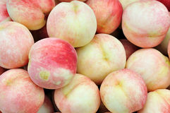 Peach. A view of peach in the greengrocer Royalty Free Stock Image