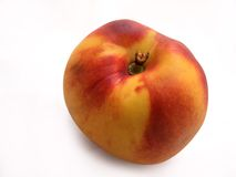 Peach. Armenian traditional yellow and red peach stock photos