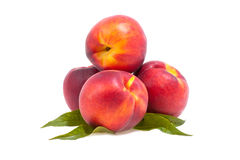 Peach. Four peaches from the lisvy Royalty Free Stock Photography