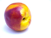 Peach. Isolated on a white background Royalty Free Stock Photography
