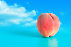Peach Against Sky Royalty Free Stock Photography