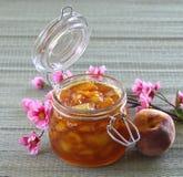 Peach, apricot, nectarine jam. Stock Image