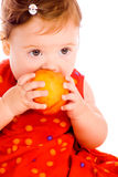 Peach Baby Stock Photography
