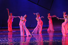 Peach Blossom Goblins-The dance drama The legend of the Condor Heroes Royalty Free Stock Image