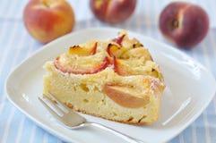 Peach Cake Royalty Free Stock Photos