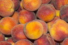 Peach close up. Royalty Free Stock Image