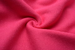 Peach cloth made by cotton fiber Stock Images