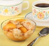 Peach Cobbler Dessert Royalty Free Stock Photo