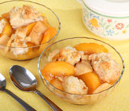 Peach Cobler Royalty Free Stock Photo