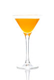 Peach cocktail Stock Images