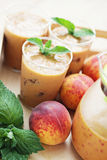 Peach coctail Royalty Free Stock Image