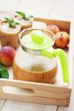 Peach coctail Stock Photos
