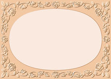 Peach-colored background Stock Image