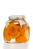 Peach Compote Stock Photography