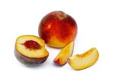 Peach cut Stock Image