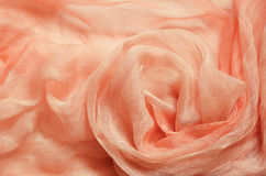 Peach draped background Royalty Free Stock Images