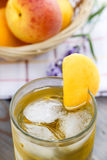Peach drink Royalty Free Stock Image
