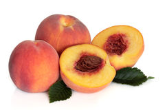 Peach Fruit Stock Image