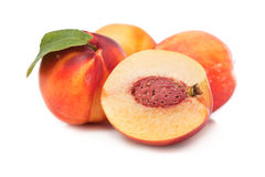 Peach fruit royalty free stock photography