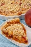 Peach fruit pie Stock Image