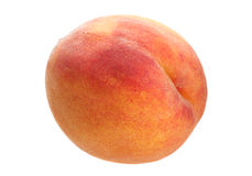 Peach fruit on white Royalty Free Stock Photography