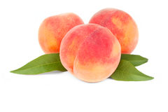 Peach fruits Royalty Free Stock Photography