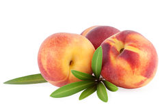 Peach Fruits isolated Royalty Free Stock Photos