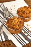 Peach Granola Muffins Stock Images