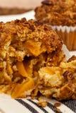 Peach Granola Muffins Stock Images