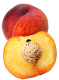 Peach group Royalty Free Stock Photo