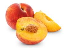 Peach and half Stock Photos