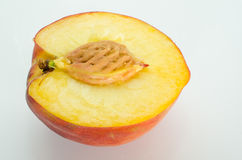 Peach Halve  Stock Photos