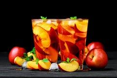 Free Peach Ice Tea Royalty Free Stock Photos - 96854348