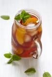 Peach ice tea Royalty Free Stock Photos