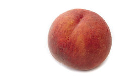 Peach isolated Stock Image