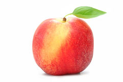 Peach isolated Royalty Free Stock Image