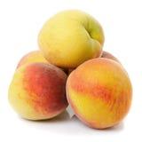 Peach isolated Royalty Free Stock Photos