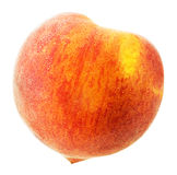 Peach isolated on the white background Stock Image