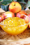Peach Jam Stock Photo