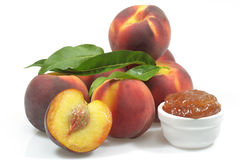Peach jam Royalty Free Stock Photo