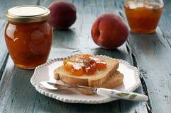 Peach jam Royalty Free Stock Photo