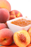 Peach jam Royalty Free Stock Photography