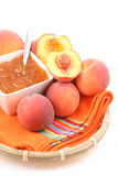 Peach jam Royalty Free Stock Images