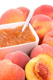 Peach jam Royalty Free Stock Image