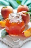 Peach Jam Stock Photography