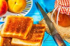 Peach jam Royalty Free Stock Image
